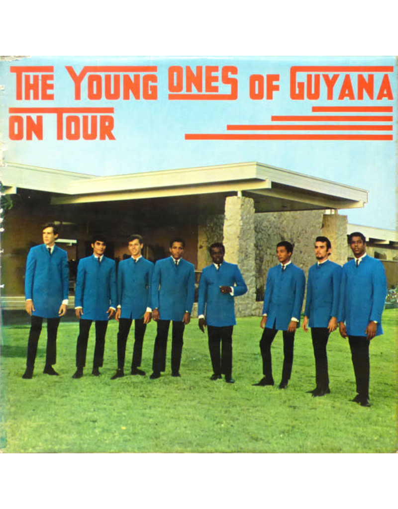 The Young Ones Of Guyana ‎– On Tour LP