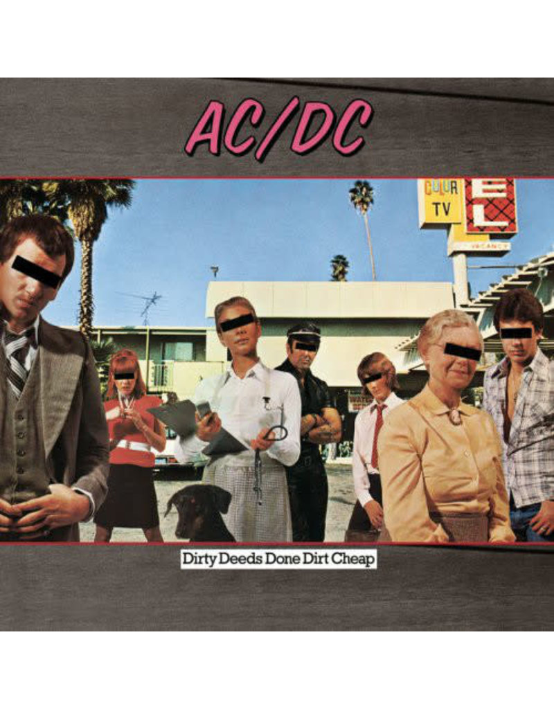 RK AC/DC ‎– Dirty Deeds Done Dirt Cheap LP