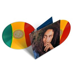 RG BOB MARLEY - LEGEND 2LP (30TH ANNIVERSARY TRI COLOUR VINYL)