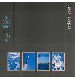 Rational Youth ‎– Cold War Night Life (Clear Vinyl) 2LP