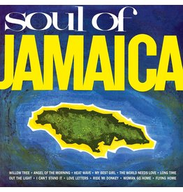 Various Artists - Soul Of Jamaica (Orange Vinyl) LP