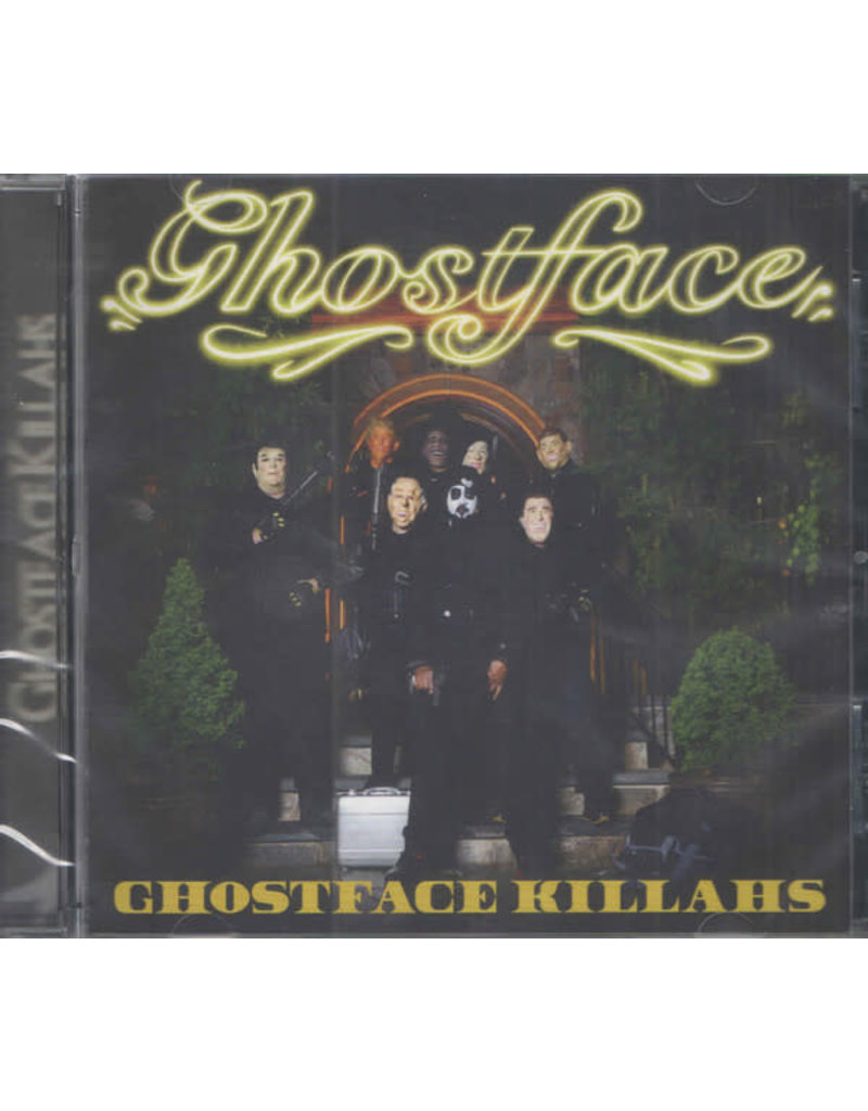 Ghostface Killah ‎– Ghostface Killahs CD