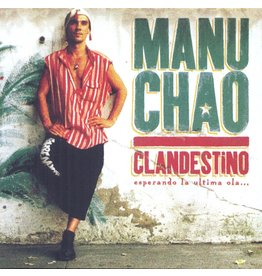 Manu Chao ‎– Clandestino / Bloody Border 2LP + 10""