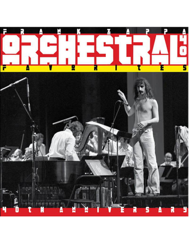 Frank Zappa ‎– Orchestral Favorites LP