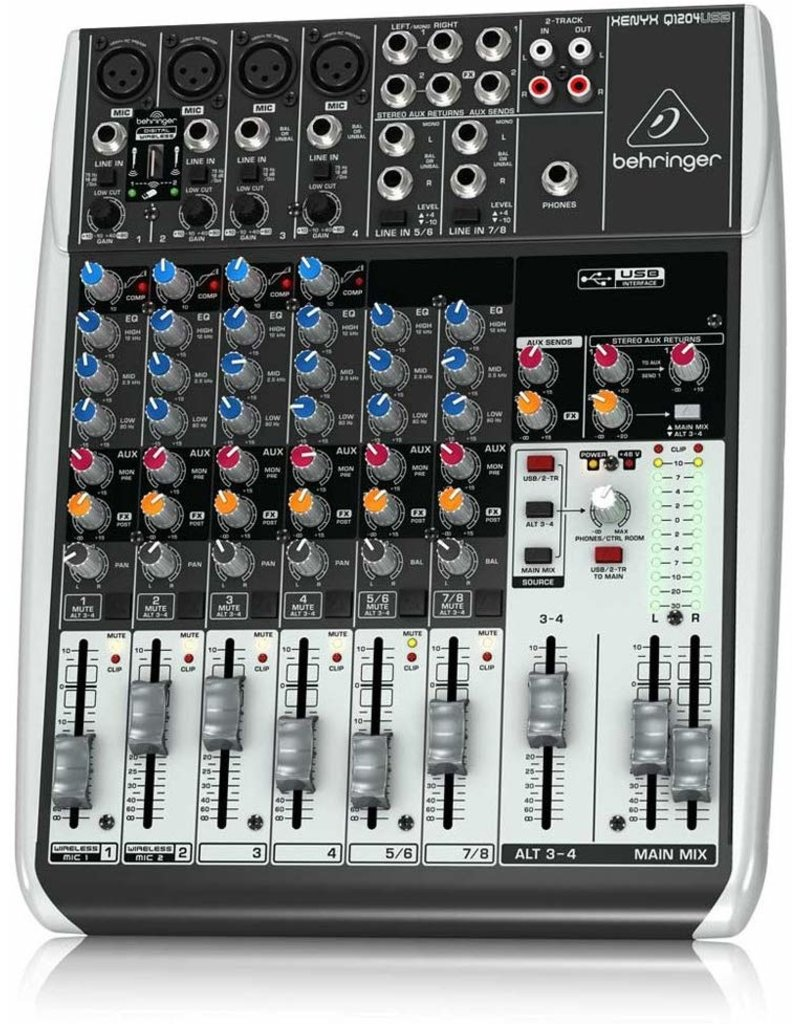 Behringer Q1204USB 12-Channel Mixer
