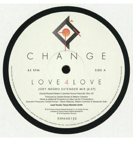 Change ‎– Love 4 Love / Make Me (Go Crazy) 12""