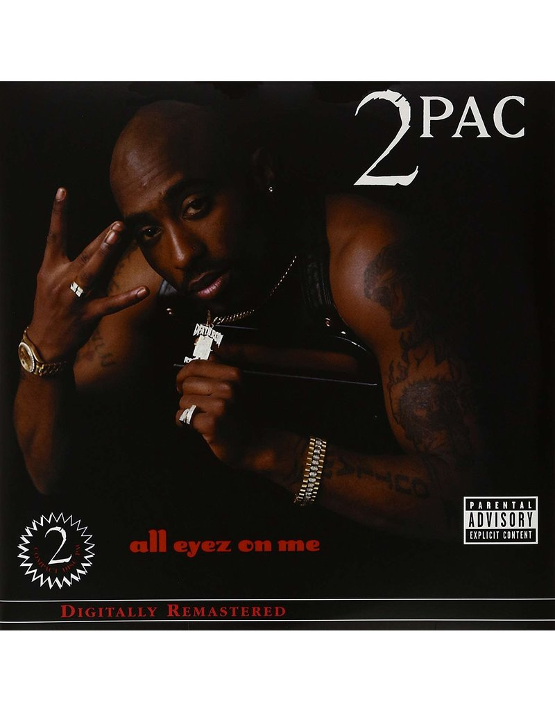 HH 2Pac ‎– All Eyez On Me 4LP