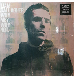 Liam Gallagher ‎– Why Me? Why Not. (Exclusive Green Coloured Vinyl) LP