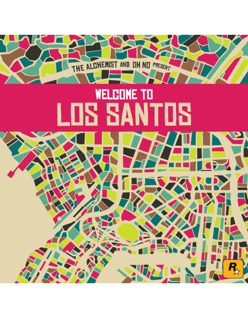 HH The Alchemist & Oh No ‎– Welcome To Los Santos 2LP