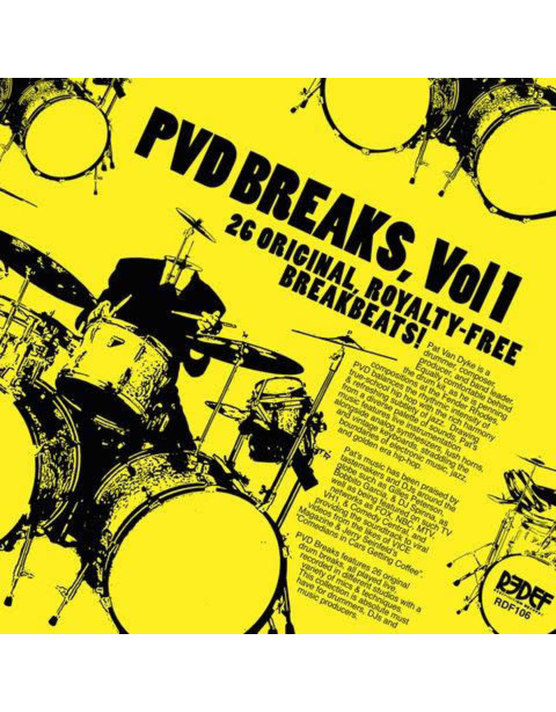 HH Pat Van Dyke ‎– PVD Breaks Vol 1 LP
