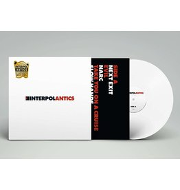 Interpol ‎– Antics LP (15th Ann. Ed, White Vinyl)
