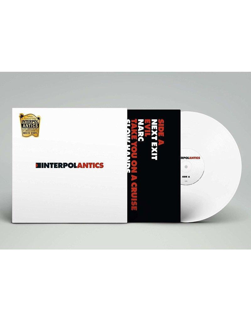 Interpol – Antics LP (15th Ann. Ed, White Vinyl)
