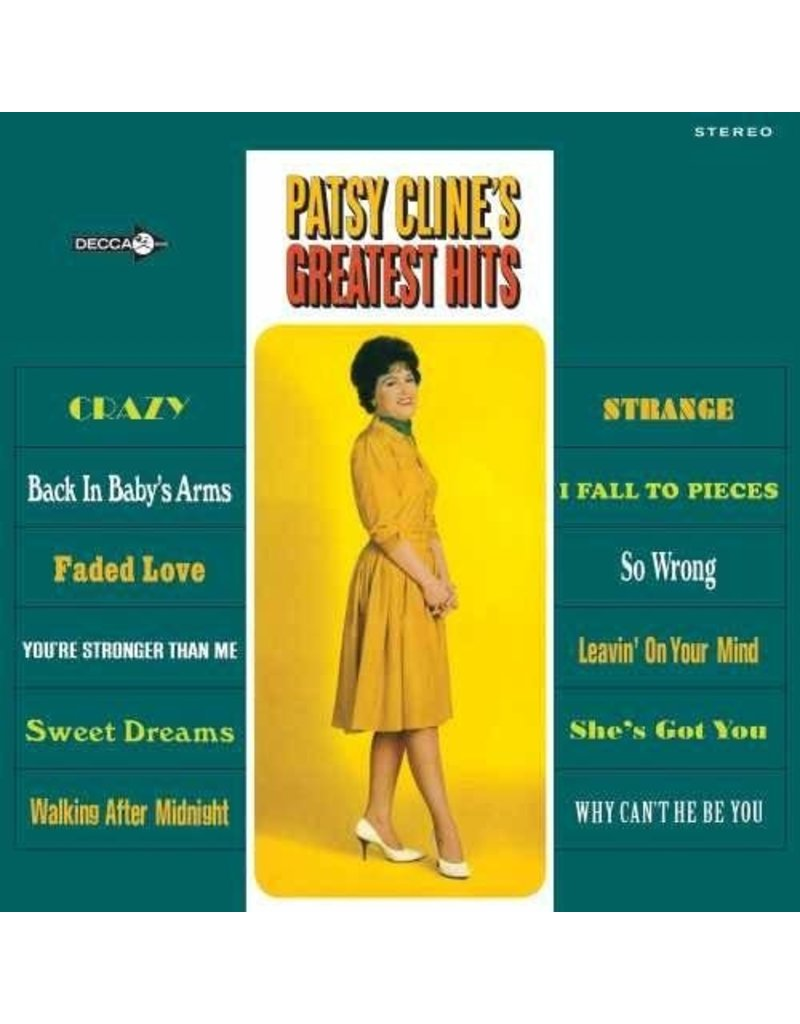 CT Patsy Cline – Patsy Cline's Greatest Hits LP
