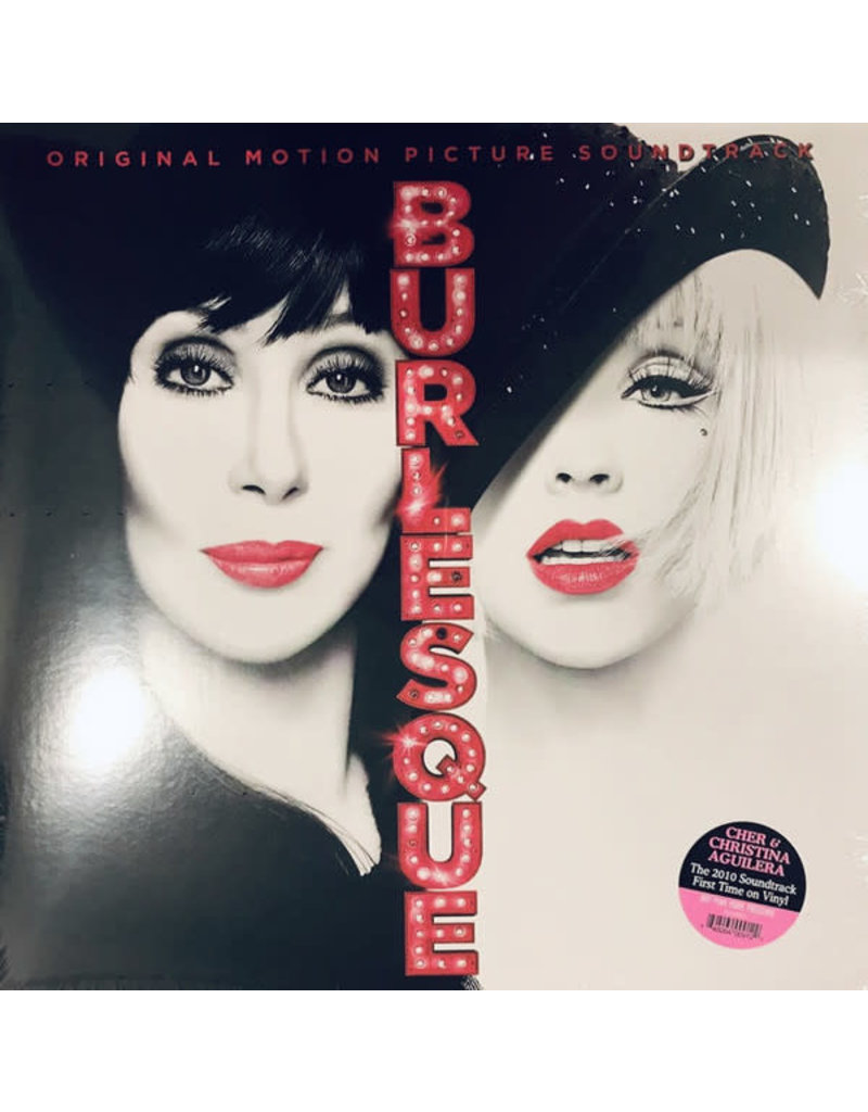 Christina Aguilera & Cher ‎– Burlesque (Original Motion Picture Soundtrack) LP, Limited Edition, Pink