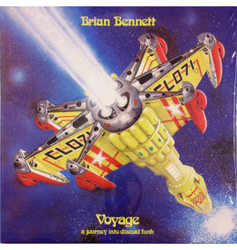 Brian Bennett ‎– Voyage (A Journey Into Discoid Funk) LP, Reissue