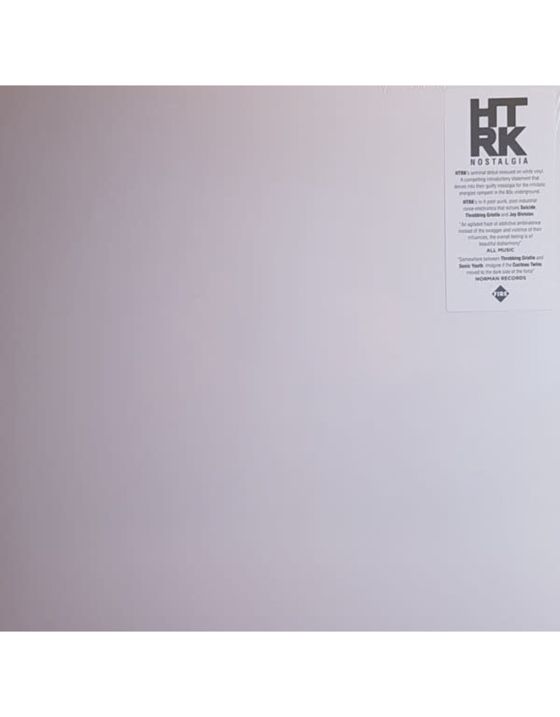 HTRK ‎– Nostalgia LP, Limited Edition, Reissue, White