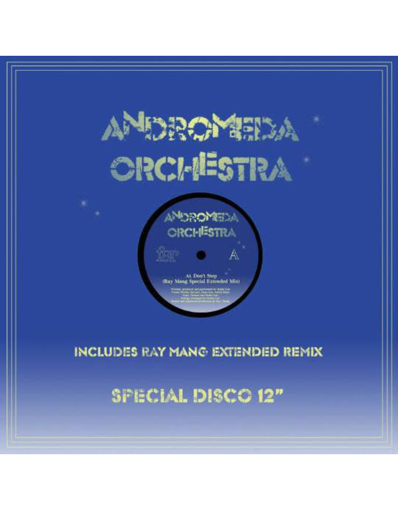 """Andromeda Orchestra – Don't Stop 12"""""""