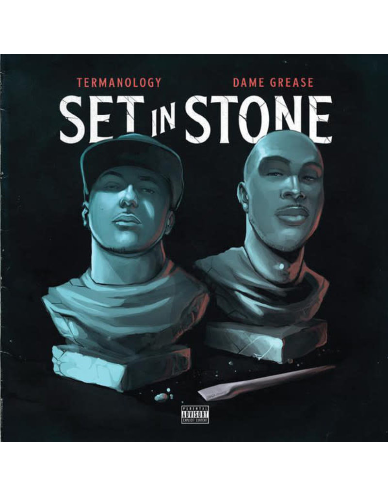 Termanology Vs. Dame Grease ‎– Set In Stone CD