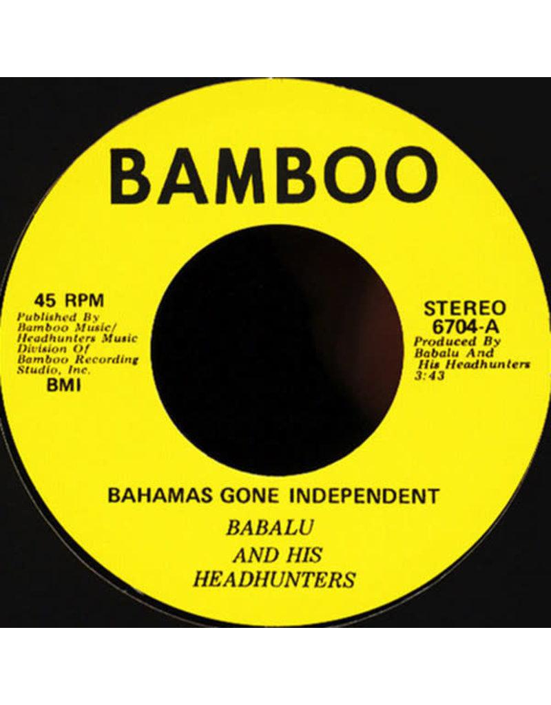 """Babalu - Bahamas Goes Independent 7"""""""