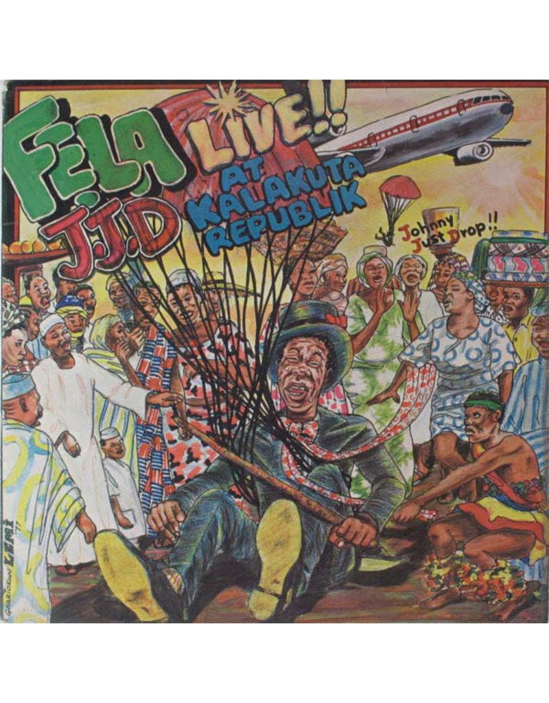 Fela Aníkúlápó Kuti And Afrika 70 – J.J.D (Johnny Just Drop!!) - Live!! At Kalakuta Republik LP