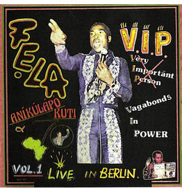 Fela Kuti ‎– V.I.P. / Authority Stealing LP