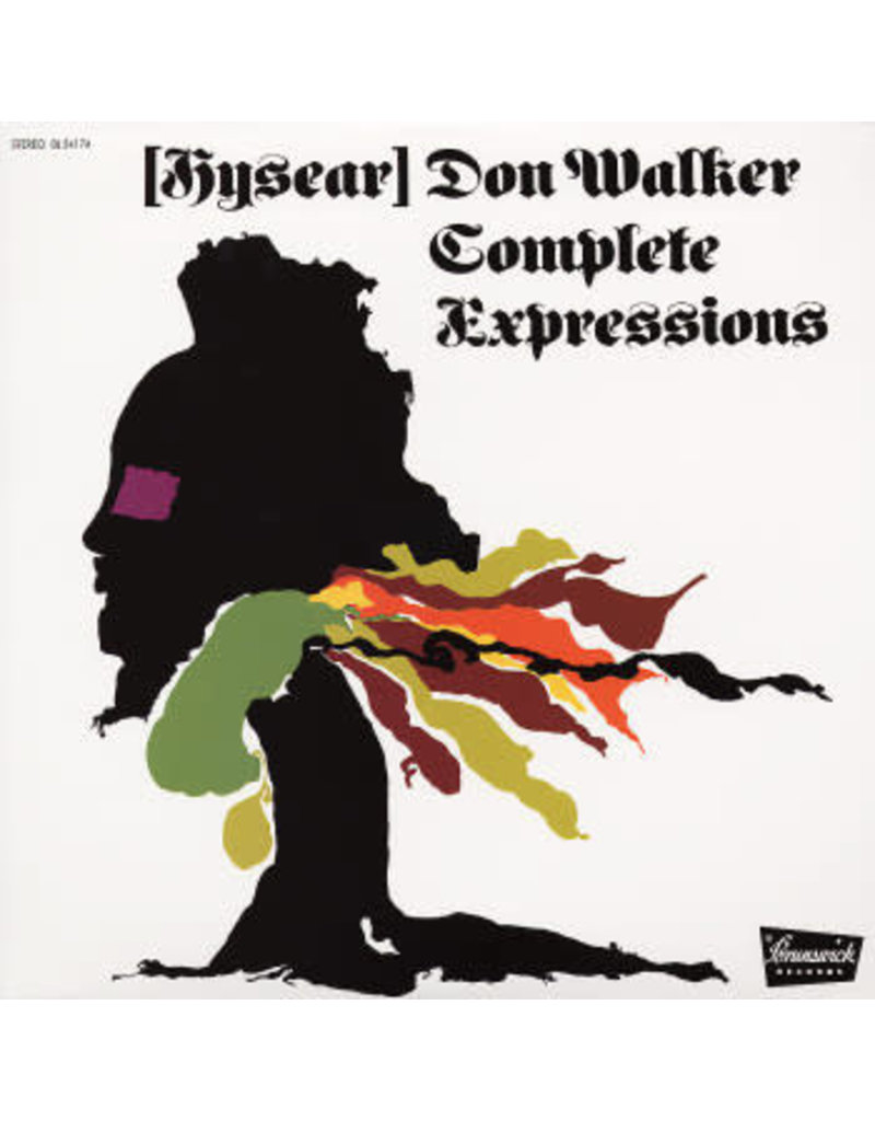Hysear Don Walker ‎– Complete Expressions LP
