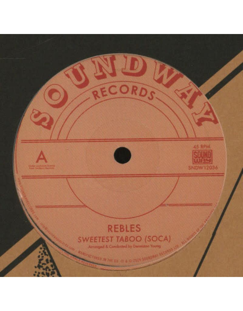 "Rebles – Sweetest Taboo (Soca) 12"""