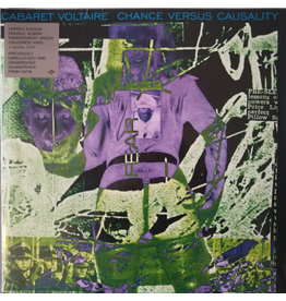 Cabaret Voltaire ‎– Chance Versus Causality 2LP, Limited Edition, Green Transparent
