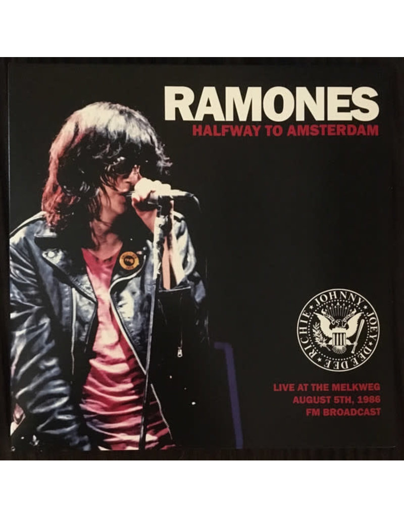 Ramones – Halfway To Amsterdam, Limited Edition, Unofficial Release