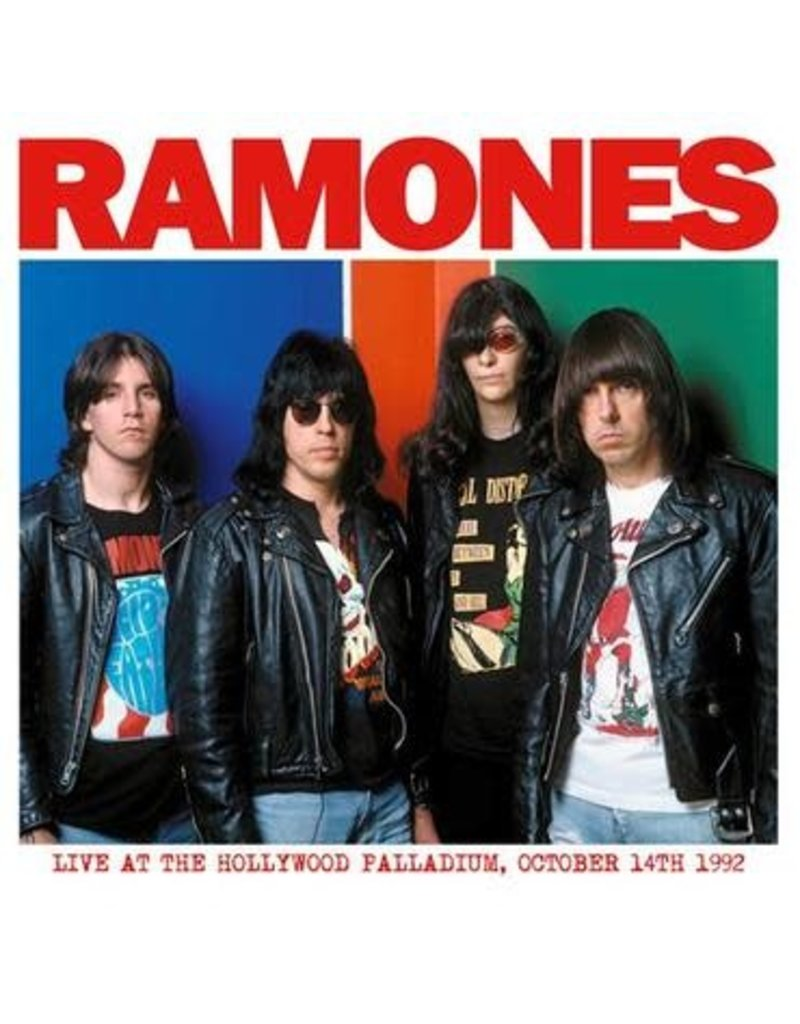 The Ramones - Live at the Hollywood Palladium October 14th, 1992 LP