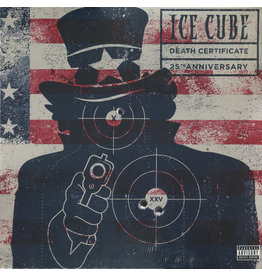 HH Ice Cube ‎– Death Certificate (25th Anniversary) 2LP