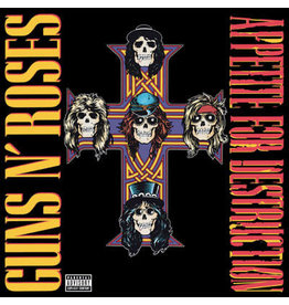 RK Guns N' Roses ‎– Appetite For Destruction LP