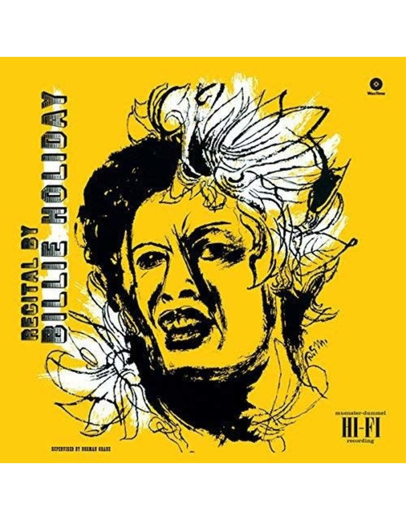 Billie Holiday ‎– Recital By Billie Holiday LP
