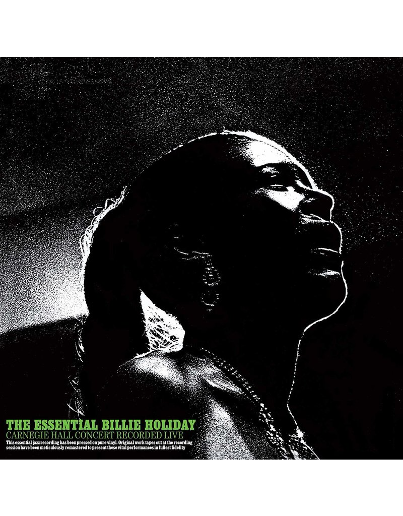 Billie Holiday ‎– The Essential Billie Holiday: Carnegie Hall Concert LP