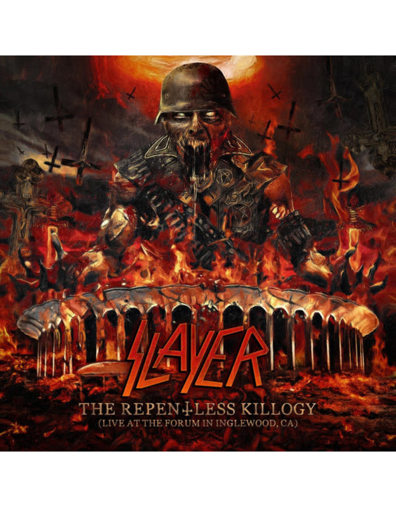 Slayer ‎– The Repentless Killogy (Live At The Forum In Inglewood, CA) 2LP