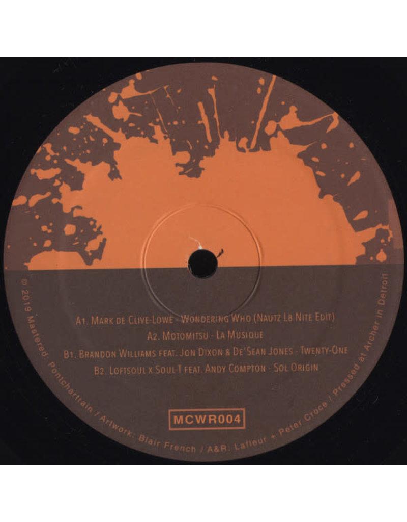 "Various – Motorcity Wine Recordings #4 12"""