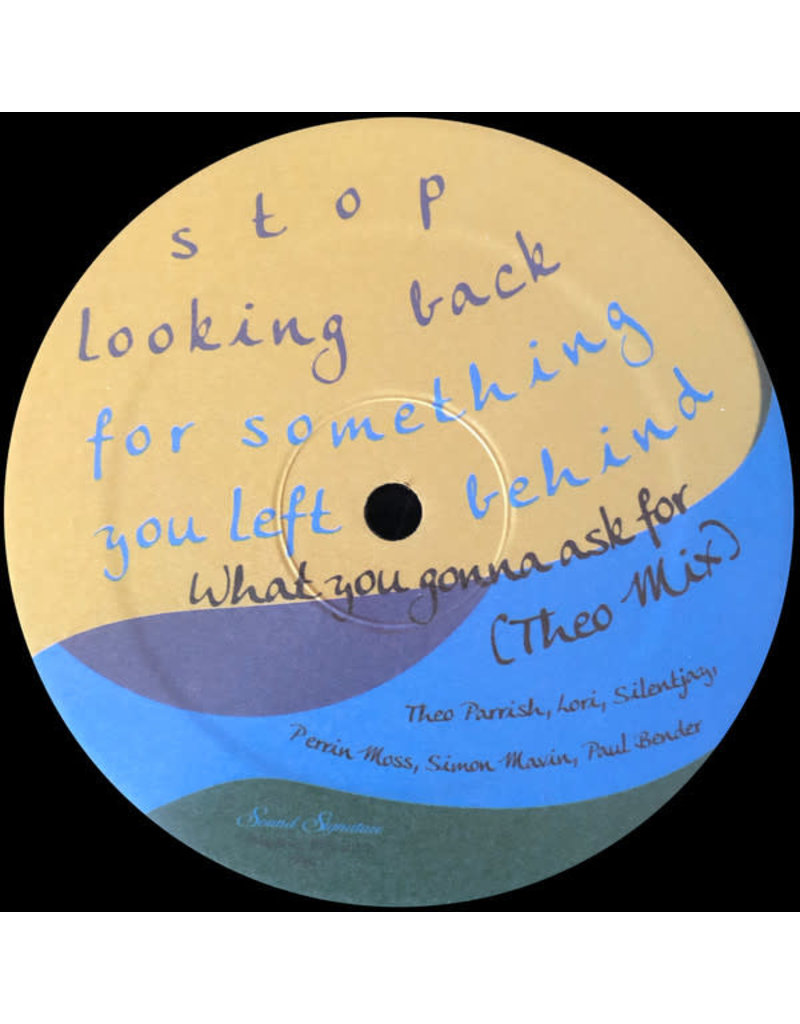 """Theo Parrish - What You Gonna Ask For 12"""""""