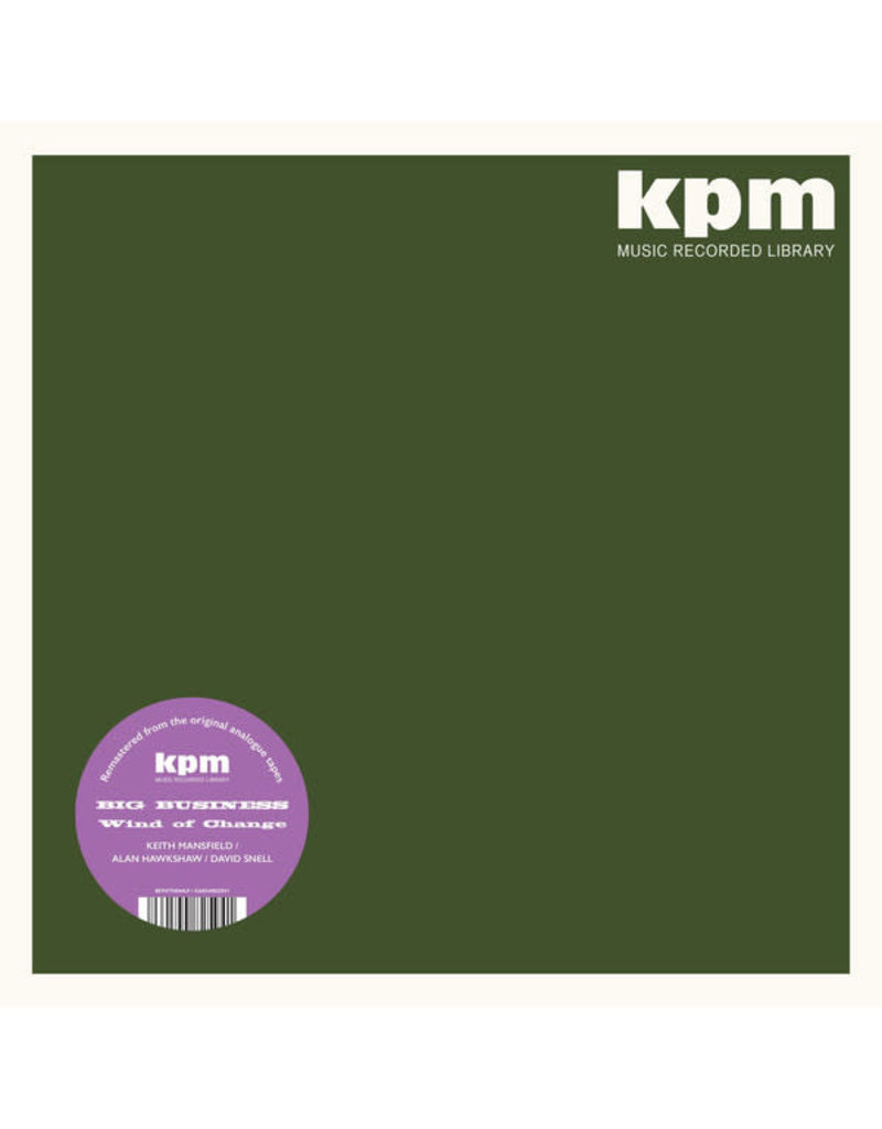 Keith Mansfield / Alan Hawkshaw / David Snell – Big Business / Wind Of Change LP