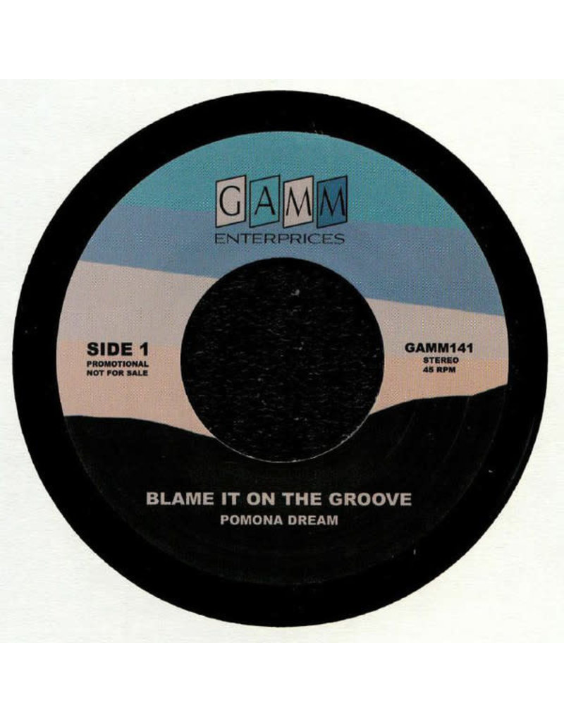 Pomona Dream ‎– Blame It On The Groove / San Francisco 7""