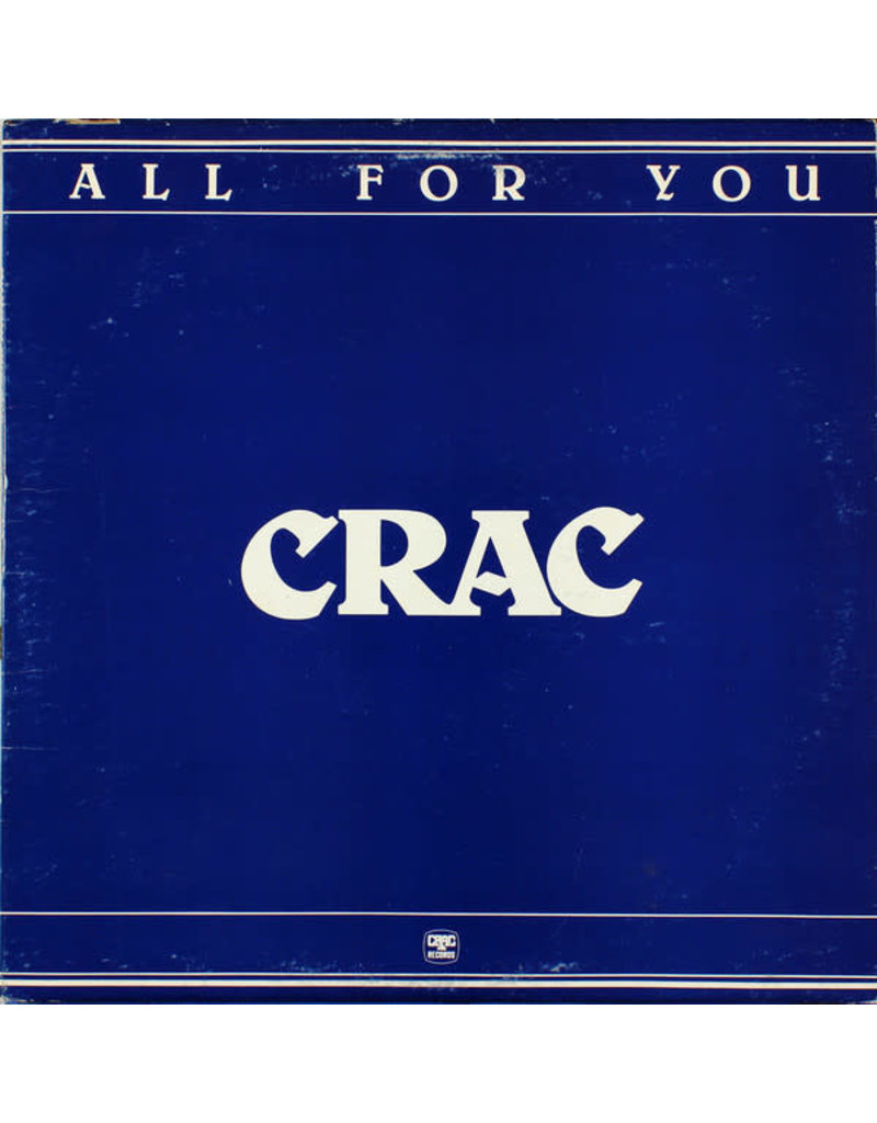 CRAC ‎– All For You LP