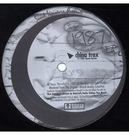 TN Theo Parrish / Leon Carson ‎– The 1987 EP 12""