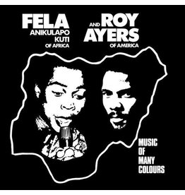 Fela Anikulapo Kuti And Roy Ayers – Music Of Many Colours LP