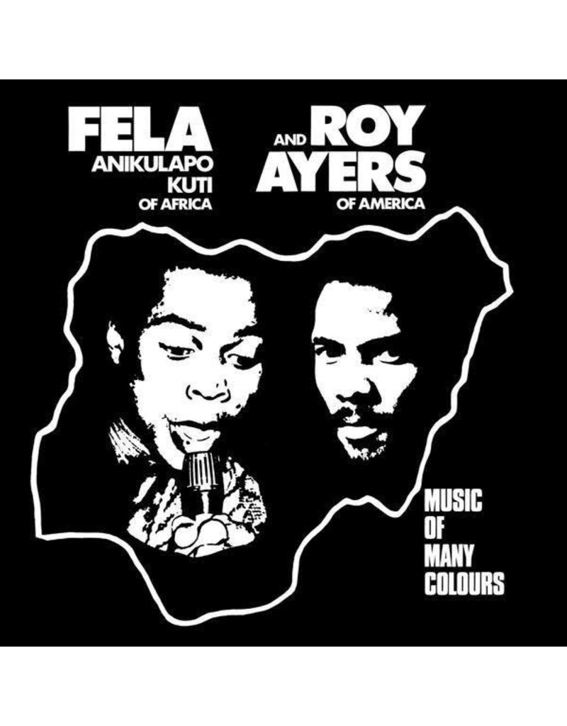Fela Anikulapo Kuti And Roy Ayers ‎– Music Of Many Colours LP