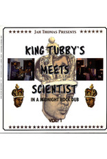 Jah Thomas Presents King Tubby & Scientist - In A Midnight Rock Dub Vol. 1 LP