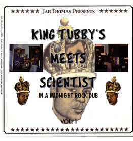 Jah Thomas Presents King Tubby & Scientist ‎– In A Midnight Rock Dub Vol. 1 LP
