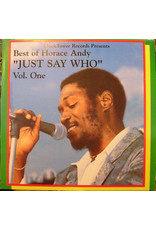 RG Horace Andy ‎– Best Of Horace Andy Volume 1 - Just Say Who LP