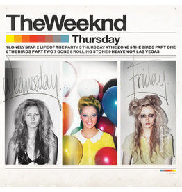HH The Weeknd ‎– Thursday 2LP