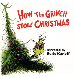 XM Various Artists - Dr. Seuss' How The Grinch Stole Christmas LP
