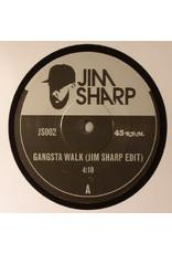 "Jim Sharp – Gangsta Walk / Cave In 7"""