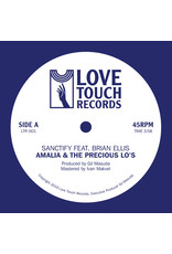 Amalia & The Precious Lo's - Sanctify (feat. Brian Ellis) 7""